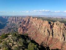 Opinión de Grand Canyon en la puesta del sol, Arizona, los E.E.U.U. A fotografía de archivo