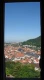 Opinión de Heidelberg foto de archivo