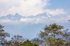 Opinión de Himalaya imagenes de archivo