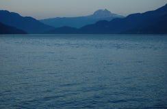 Opinión de Howe Sound Fotografía de archivo