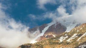 Opinión de Kala Patthar, región de Everest, Nepal de lapso de tiempo metrajes