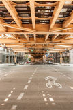 Opinión de la arquitectura del extracto de Chicago Fotografía de archivo libre de regalías