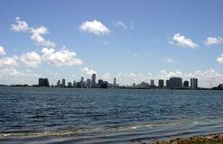 Opinión de la bahía Foto de archivo