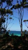 Opinión de la bahía Imagen de archivo libre de regalías