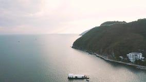 Opinión de la bahía del mar metrajes