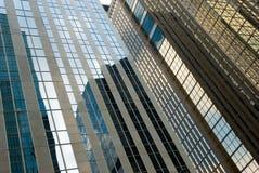 Opinión de la calle, abajo ciudad, Toronto, Ontario, Canadá Foto de archivo libre de regalías