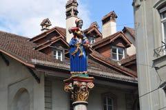Opinión de la calle de Berna Foto de archivo