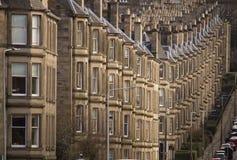 Opinión de la calle de Edimburgo Imagen de archivo