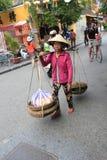 Opinión de la calle de Hoi An en Vietname Imagenes de archivo