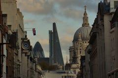 Opinión de la calle de Londres Foto de archivo