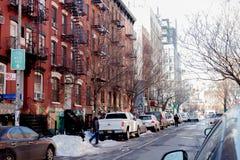 Opinión de la calle de New York City Imagen de archivo