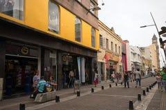 Opinión de la calle de Palmira Colombia del área central Foto de archivo