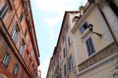 Opinión de la calle de Roma Imagen de archivo