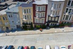 Opinión de la calle de San Francisco Fotografía de archivo libre de regalías