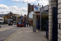 Opinión de la calle de St Pauls Station Constitution Hill Fotos de archivo