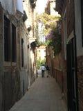 Opinión de la calle de Venecia Fotografía de archivo