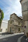 Opinión de la calle de Vincent Van Gogh Foundation Arles Imágenes de archivo libres de regalías
