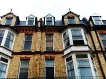 Opinión de la calle del edificio Foto de archivo libre de regalías