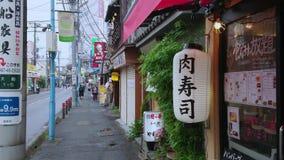 Opinión de la calle en la ciudad histórica de Kamakura Ofuna - de KAMAKURA/de JAPÓN - 18 de junio de 2018 metrajes