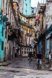 Opinión de la calle en el La La Habana imagen de archivo libre de regalías