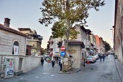 Opinión de la calle en Estambul Fotos de archivo