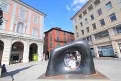 Opinión de la calle en Pisa, Italia Foto de archivo libre de regalías