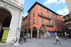 Opinión de la calle en Pisa, Italia Fotografía de archivo