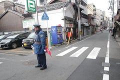 Opinión de la calle en Tokio Foto de archivo