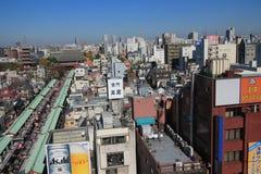 Opinión de la calle en Tokio Imagen de archivo