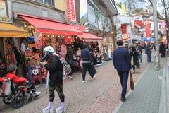 Opinión de la calle en Tokio Fotografía de archivo