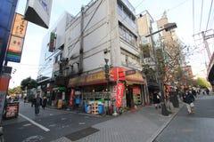 Opinión de la calle en Tokio Imagenes de archivo