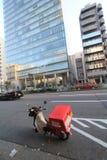 Opinión de la calle en Tokio Imágenes de archivo libres de regalías