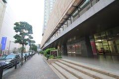 Opinión de la calle en Tokio Foto de archivo libre de regalías