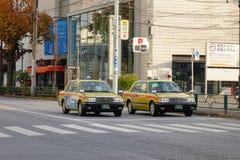 Opinión de la calle en Tokio, Japón Fotografía de archivo