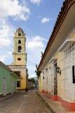 Opinión de la calle en Trinidad, Cuba Fotografía de archivo