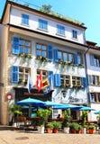 Opinión de la calle en Zurich, Suiza fotografía de archivo libre de regalías