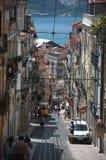 Opinión de la calle de Lisboa Foto de archivo