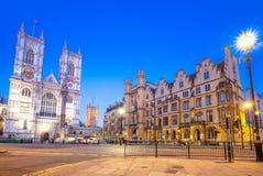 Opinión de la calle de Londres, Reino Unido Foto de archivo