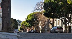 Opinión de la calle--SF Imagen de archivo