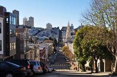 Opinión de la calle--SF Fotografía de archivo