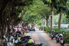 Opinión de la calle de la vida en Taiwán imágenes de archivo libres de regalías