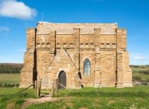 Opinión de la capilla del St Catherines Imagen de archivo