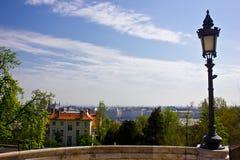 Opinión de la ciudad Foto de archivo