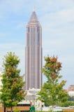 Opinión de la ciudad de Atlanta Imágenes de archivo libres de regalías