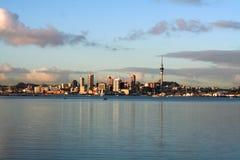 Opinión de la ciudad de Auckland Fotos de archivo libres de regalías