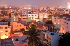 Opinión de la ciudad de Bangalore imagenes de archivo