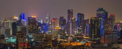 Opinión de la ciudad de Bangkok Fotografía de archivo