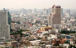 Opinión de la ciudad de Bangkok Imágenes de archivo libres de regalías