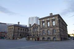 Opinión de la ciudad de Belfast Fotografía de archivo