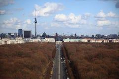 Opinión de la ciudad de Berlín Fotos de archivo